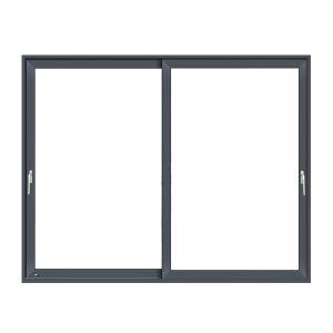 Gran Interior/Exterior puerta deslizante, la puerta de bloqueo de aleación de aluminio