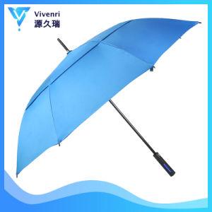 Parapluie double extra large de la canopée de plein air ventilé au vent pour la publicité