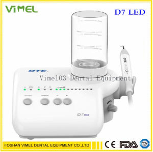 Carpintero Dental Ultrasonido equipo escalador Piezo Dte D7 original de LED