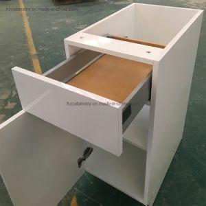 A China a madeira maciça de mobiliário de cozinha cabinet