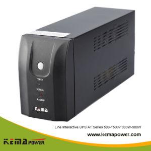 En 500-1500va 110V/220V con la batería de UPS de línea interactiva