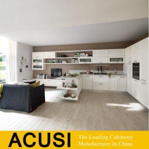 Armário de cozinha moderna grossista Foshan Laca Armários de cozinha (SCA2-W231)