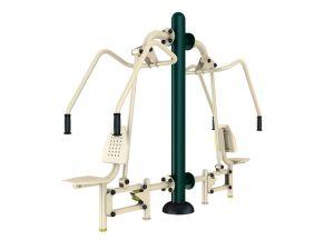 El equipo de ejercicio al aire libre el equipo de prensa de la pierna Trainer Body-Building