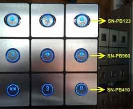 Tasten-Drucktaste (SN-PB960) anheben