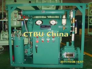 Machine de in één stadium van de Regeneratie van de Olie van de Transformator voor de Olie van de Isolatie van de Transformator