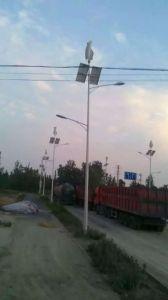 Straßenlaterneder Wind-Solarrechnersystem-Straßen-Light/LED/Solarstraßenlaterne mit Generator des Wind-300W