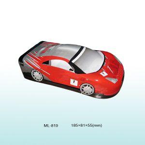 El deporte Tin coche para niños, regalo de chocolate de estaño, estaño, de forma Sport-Car