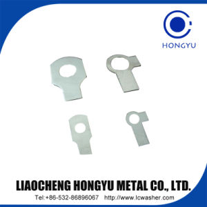 DIN oreille unique en acier inoxydable93-1974 rondelle à languette