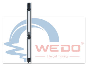 6Pompe submersible série sr trou de forage de puits profond pour l'irrigation de la pompe