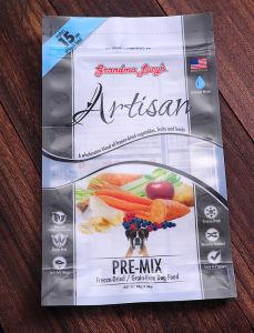Sac en plastique de l'emballage des aliments pour animaux de compagnie avec l'impression personnalisables