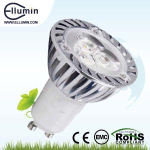 AluminiumHousing LED Spotlight Dimmable 3W GU10 LED Light Product