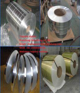 Finition PIERRE SPCC 2.8/2.8 le fer blanc pour l'alimentation de la plaque en acier laminés à froid Feuilles SGS ISO en usine