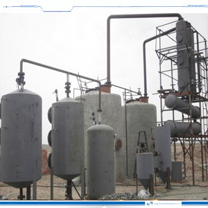 20ton Used Oil Distillation New Plant