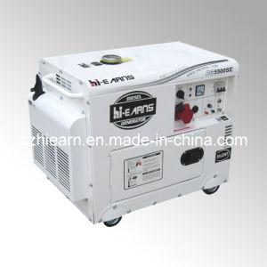 Tipo de silencioso Air-Cooled gerador diesel Trifásico (DG5500SE3)