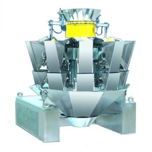 10head Combination Weigher met Flat Buckets