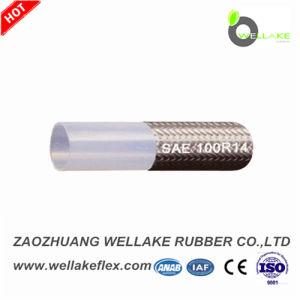 ステンレス鋼のテフロンホースSAE100r14