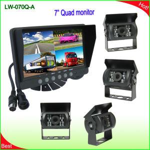 7 дюймов Quad ЖК монитор система реверсирования (LW-070Q-A)