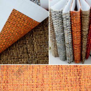 Venda a quente 100% poliéster tingido simples tecido Sofá 150cm de largura