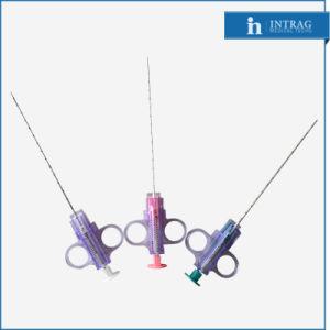 Guillotina semiautomática biopsia con aguja 18g