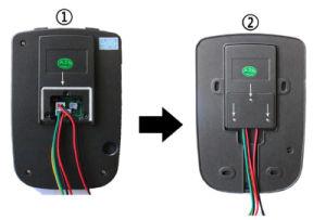 Unterstützen videotür-Telefon H.-264 720p WiFi, 2.4G Türklingel WiFi, Radioapparat freisetzen IOS androide APP