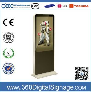 42 affissione a cristalli liquidi Indoor Advertizing Display di pollice HD Floor Type con Network 3G/WiFi per Commercial Buildings