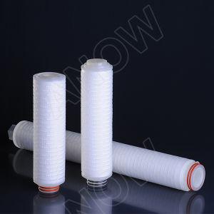 0.1Micron filtro de pliegues de la membrana de polipropileno PP