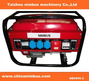 Generador de gasolina de 3 fases de la generadora eléctrica