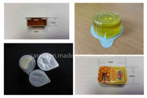 Chocolate líquido automática Máquina de embalaje blister