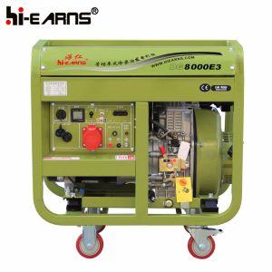 Tipo di blocco per grafici aperto raffreddato ad aria gruppo elettrogeno diesel del singolo cilindro (DG8000E3)