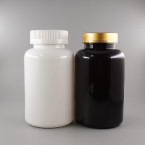 Productos de plástico 300ml pet envases de plástico con tapa de oro