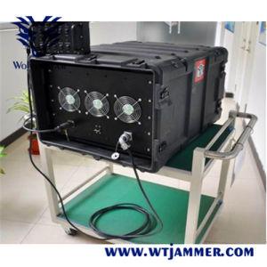 De waterdichte Dds Volledige Stoorzender van het Signaal van de Hoge Macht 25-6000MHz van het Beheer van de Software van de Frequentie