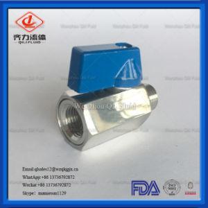 304/ Acero Inoxidable 316L Mini válvula de bola con Reduced-Bore