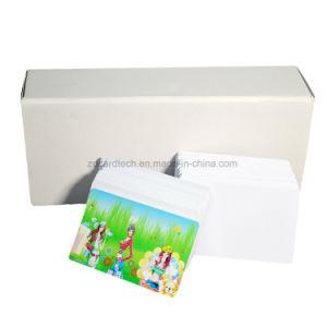 Plastic/PVCのEpsonのインクジェット・プリンタのための印刷できるブランクインクジェットIDのカード