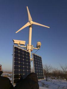 200W 12V/24Vの風力の発電機または風カエネルギーの発電機中国