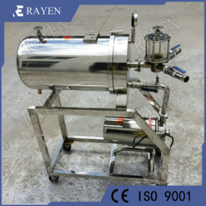 Chapa de Aço Inoxidável Vinho Filtro Diatomite Máquina de Filtro
