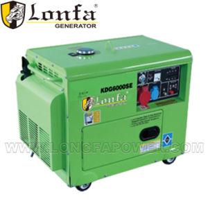 leiser Dieseldreiphasiggenerator 5.5kVA mit Fabrik-Preis