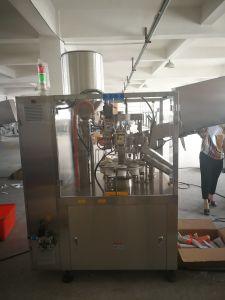 化粧品の歯磨き粉のローションのための自動薄板にされた管の満ちるシーリング機械