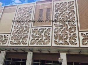 外壁のためのアルミニウムベニヤシートを切り分ける新しいデザイン