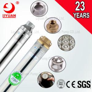 Qjd 2 pulgadas de profundidad sumergible de acero inoxidable y bomba de agua de 4 pulg.