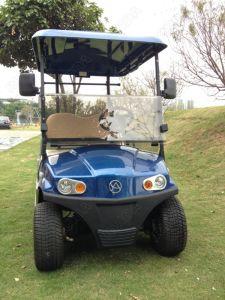 Carrello di golf indipendente della sospensione del braccio del doppio di alta qualità di 2 Seater con la casella di memoria