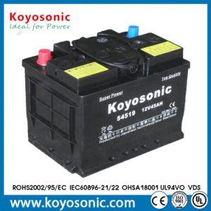 12V 45ah a bateria carregada para a Bateria do Carro de bateria automático
