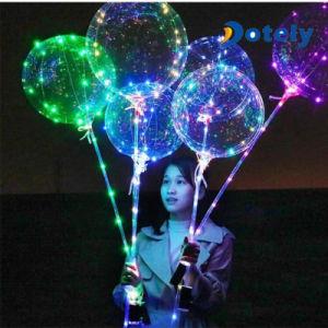 Luz de LED de ar romântico decorações de Natal Balão Bobo