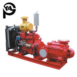 Faible consommation électrique de l'Agriculture de l'irrigation de la pompe Diesel à plusieurs degrés de l'eau