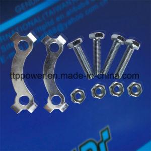 Cg125/150 de acero inoxidable de 45 piezas de motos juego de la cadena grande/pequeño/Delantero/Trasero la rueda dentada