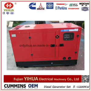 40КВТ 50 ква бесшумный корпус Fawde Xichai дизельного генератора