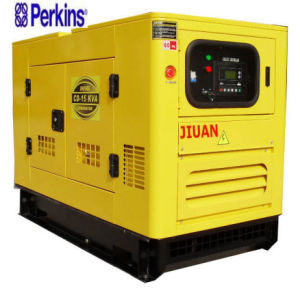 Diesel van de Macht van de Stroom 12kw 15kVA van de Fabriek van Guangzhou de Stille Reeks van de Generator Genset