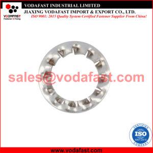La norme DIN 6798 la rondelle de blocage dentelée en acier inoxydable, à l'interne, de la forme dentelée J
