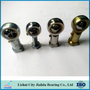 Gcr15 extremos de la barra de mecanizado de acero con rosca interna y chapado de níquel