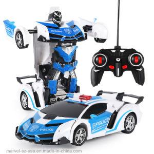RC dirigindo carros desportivos a transformação de modelos de robôs Controle Remoto Carro