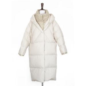 Зимний женской моды хлопка в воротник куртки, ложных два вида дизайна моды повседневный пиджак вниз